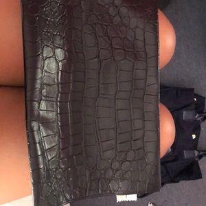 MM6 Maison Martin Margiela Bags - Crocodile black and white MM6 Bag